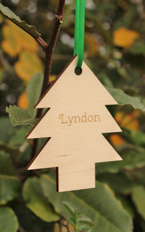 Christmas Tree Decoration, Personalised Tree Decoration – Little ...