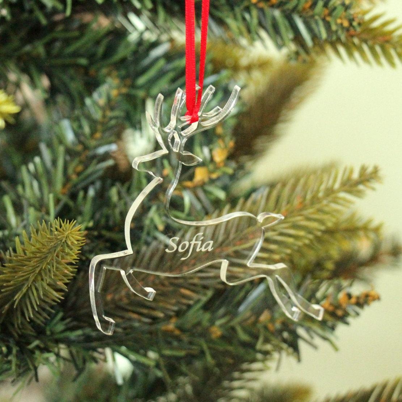 Christmas Tree Decoration, Perspex Tree Decoration