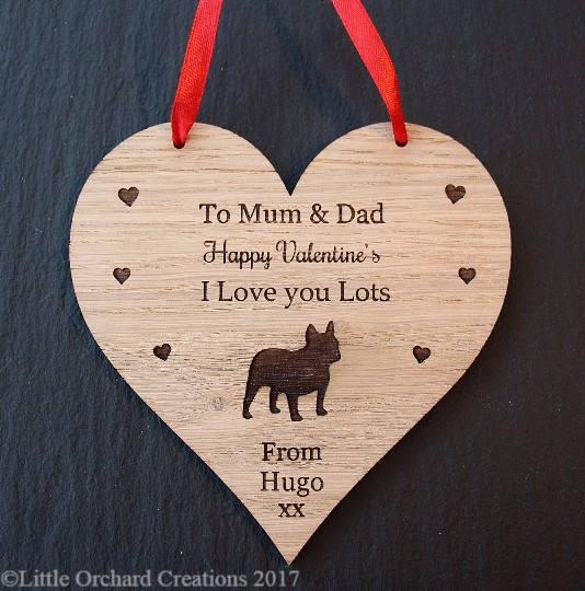 French Bulldog Valentine's Day Gift, Valentine's Day Gift