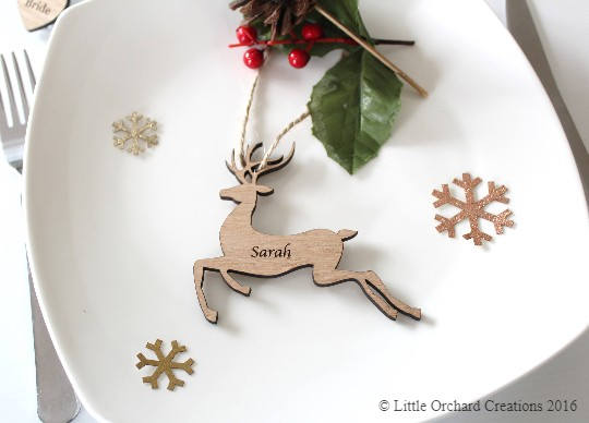 Wedding Favour Ideas, Christmas Wedding Favour Ideas