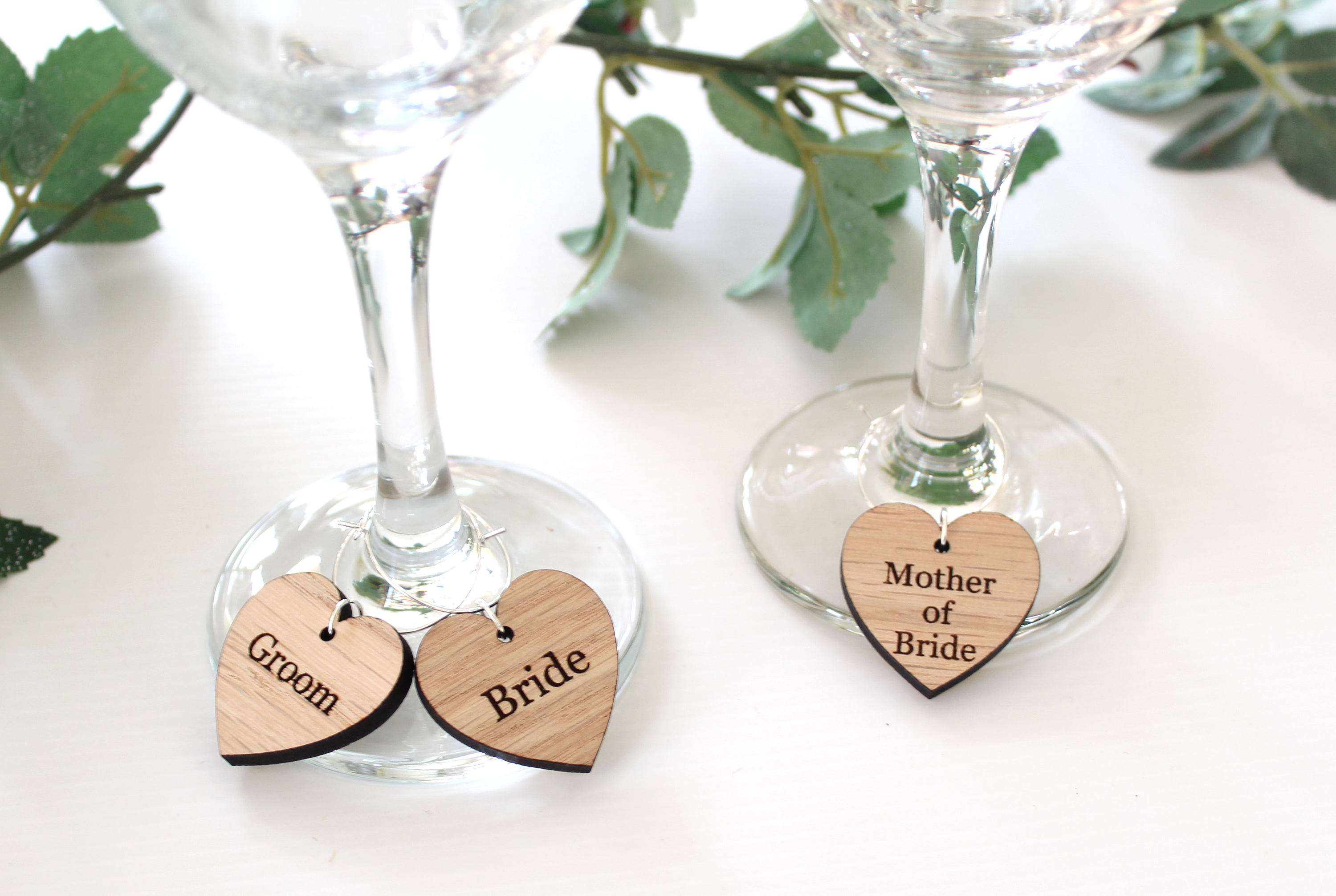 Wine Glass Charms Wedding Favors | Giftwedding.co