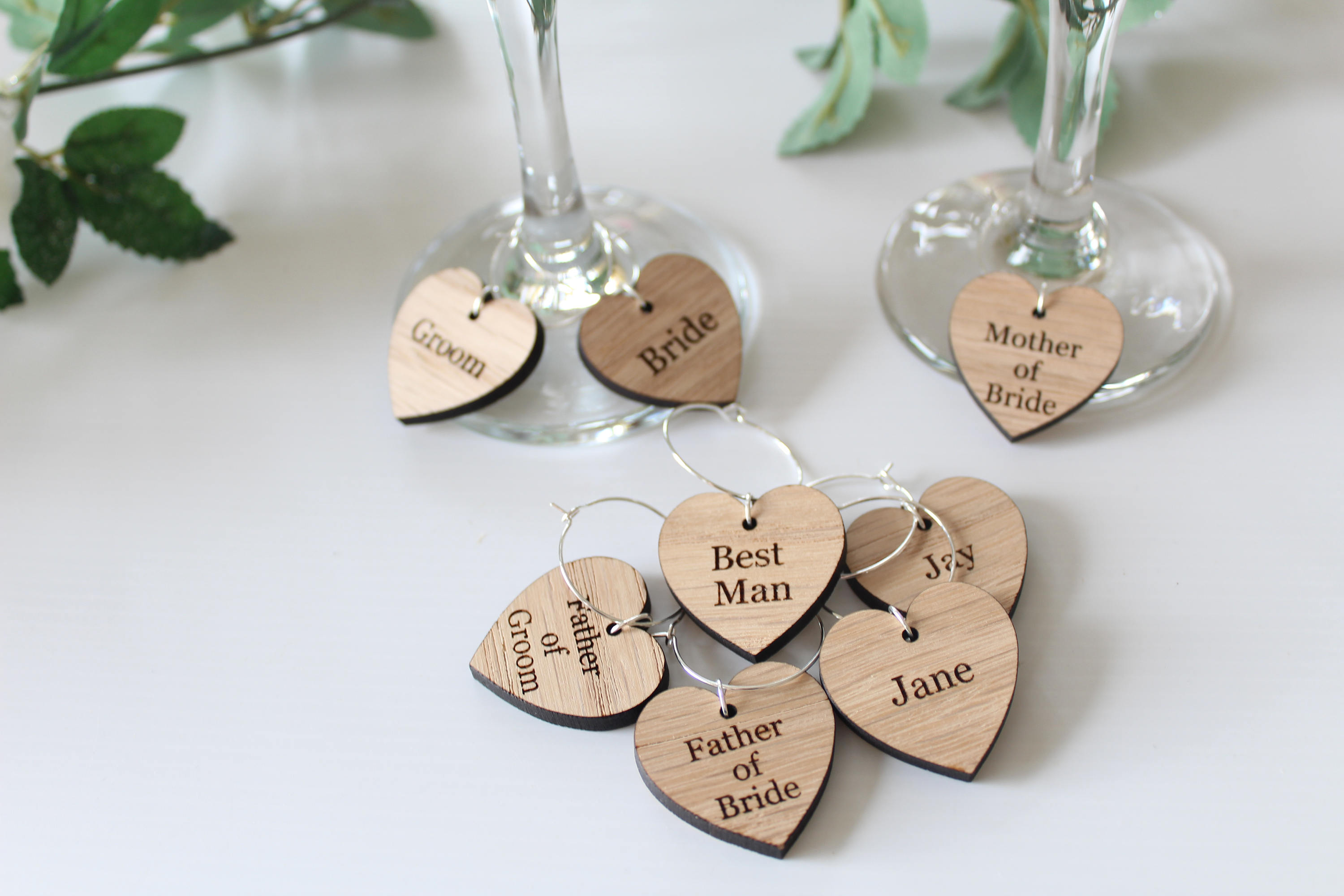 Wedding Favour Ideas, Wine Glass Charms