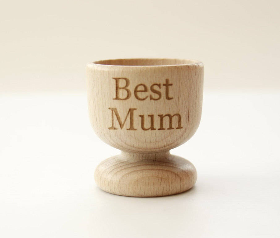 Wooden Egg Cups, Personalised Egg Cups